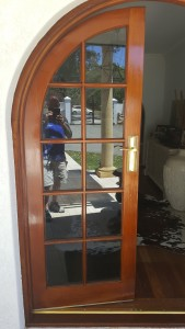 window and door varnishing