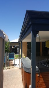 gutters and fascia painting