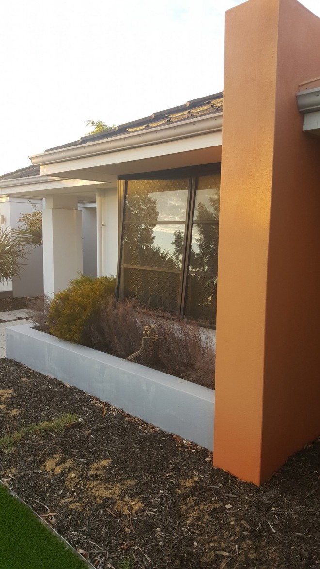 Exterior wall painting landsdale colour perfect decorating - Painting exterior wall model ...