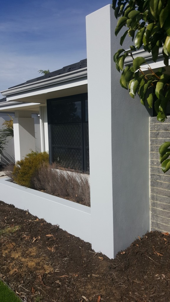 Gallery colour perfect decorating - Painting exterior wall model ...