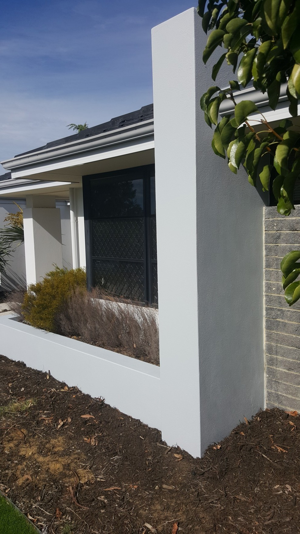 Exterior wall painting landsdale colour perfect decorating - Wall paint exterior image ...
