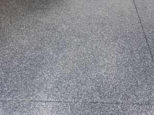 partial flake garage floor