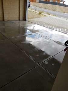 acid wash floor and wash